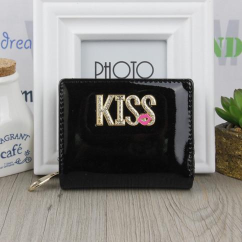 Short Women's Wallet For Money And Cards