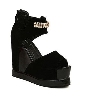 Ultra High Heel Female Sandals On Platform - Zorket