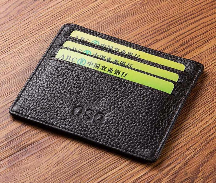 Genuine Leather Card Holder For Men
