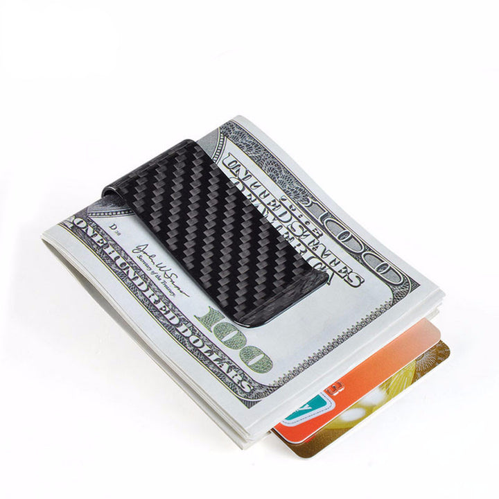 Zorket - Wallet - 100% Carbon Fiber Male Money Clip