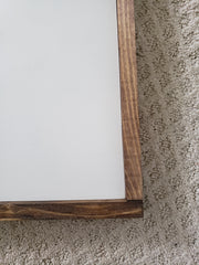 All Of God's Grace In One Tiny Face Wood Framed Sign
