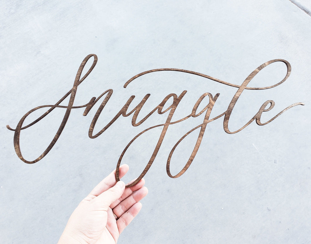 Custom Laser Cut Word | Customize Yours!