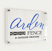 Business Sign | Acrylic Logo Sign