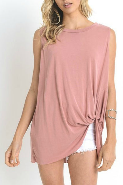 Knotted Relaxed Tee (more colors)