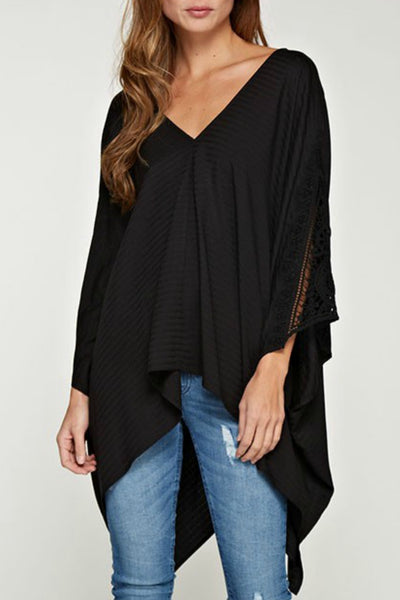 Oversized Dolman Tunic