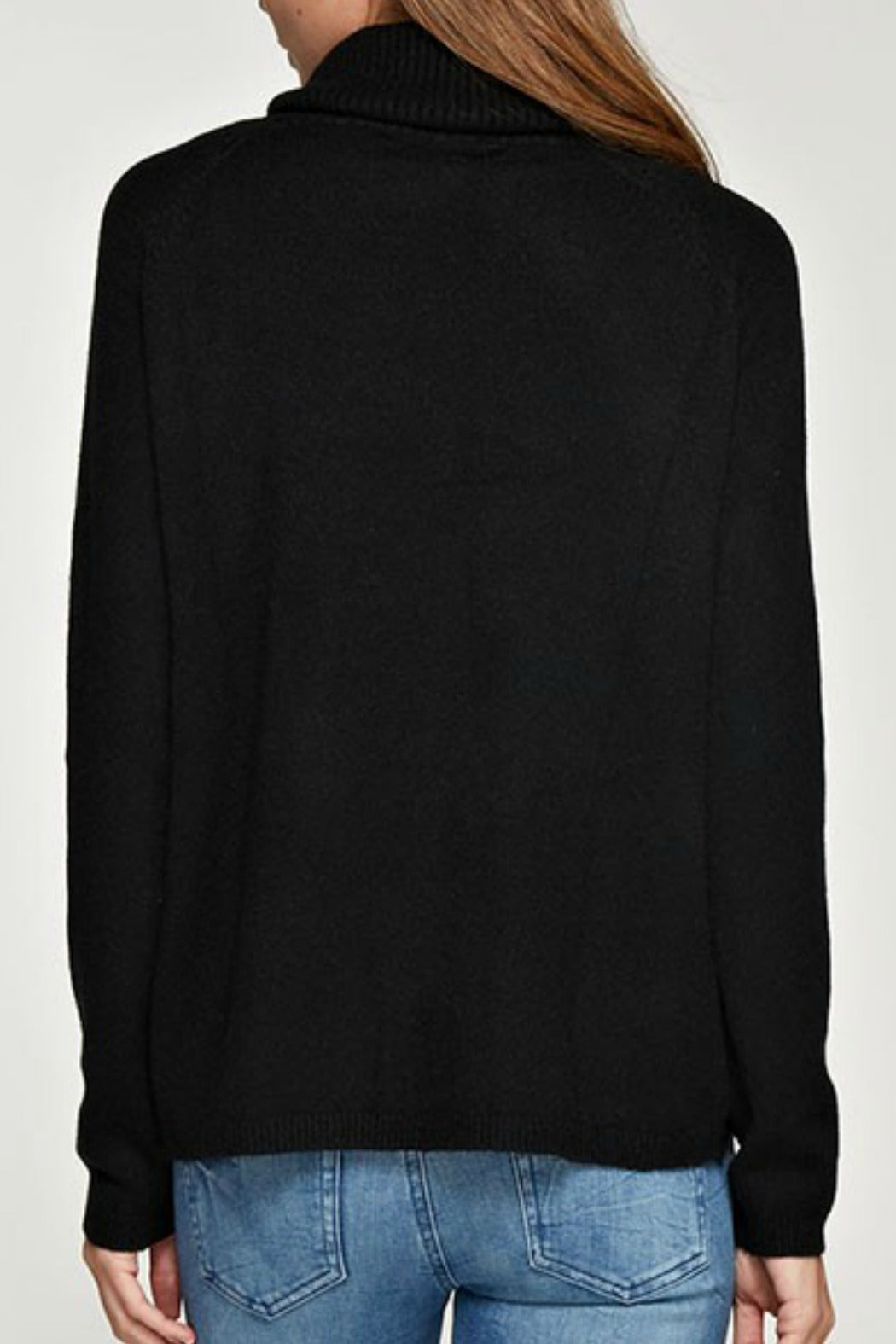 Pocket Turtleneck Pullover (more colors)