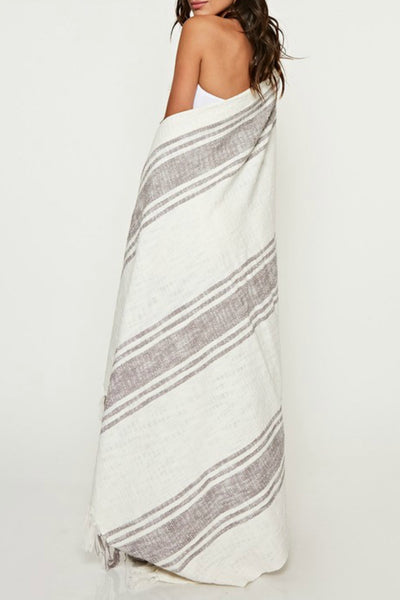 Striped Summer Throw