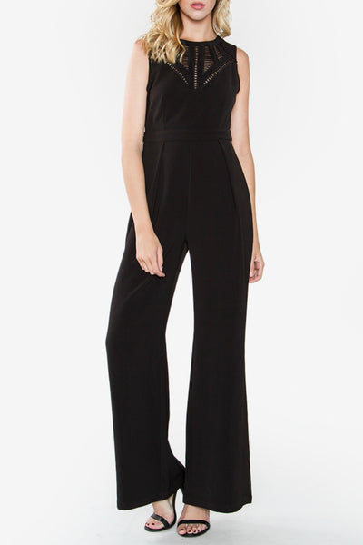 Sleeveless Wide-Legged Jumpsuit