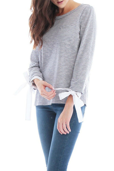 Preppy Striped Top