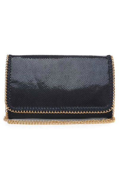 Joy Vegan Chain Clutch (more colors)