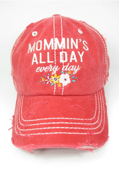 Mommin's All Day Baseball Cap (more colors)