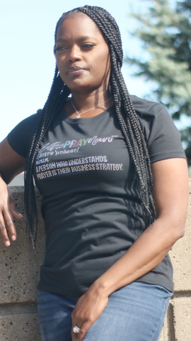 EntrePRAYneur definition Bling Tee