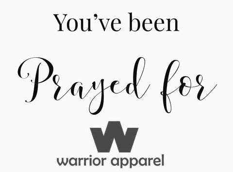 Warrior Apparel Reships