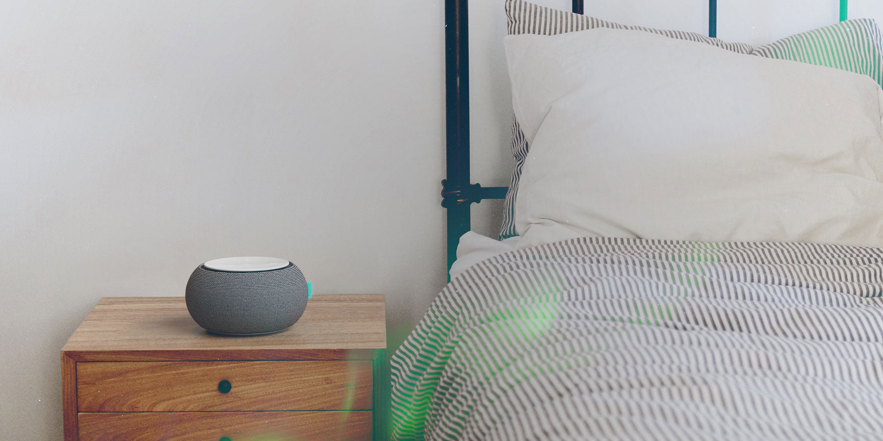 SNOOZ White Noise Machine in Bedroom