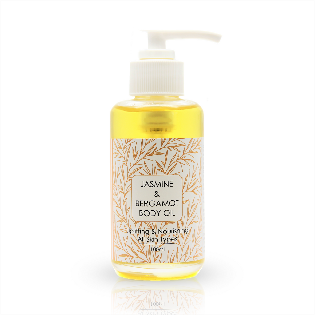 Natural Jasmine & Bergamot Body Oil  100ml