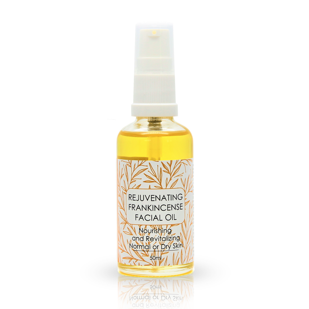 Natural Facial Serum, Frankincense Facial Oil for Normal or Dry Skin. 50ml