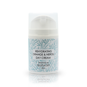 Rehydrating Neroli Daily Moisturiser Infused with Neroli, Sage, Orange and Ylang Ylang Essential Oils 50ml