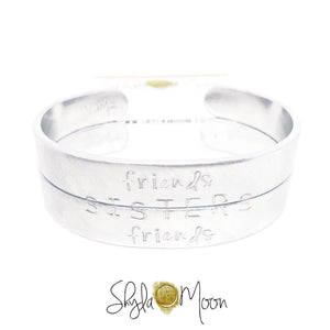 Sisters Friendship Cuffs (Medium)
