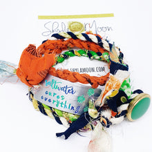 Load image into Gallery viewer, Saltwater Cures Everything Kimono Wrap Bracelet <b>(Ready To Ship)</b>
