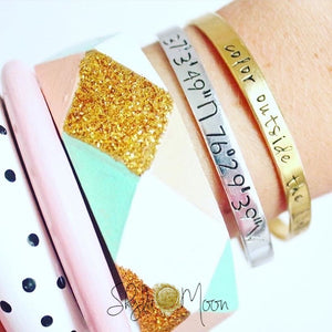 Design Your Own Cuff Bracelet (Skinny Cuff)