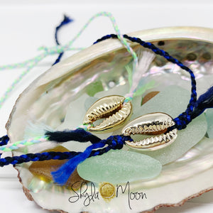 Shell Bracelet or Anklet