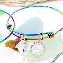 Load image into Gallery viewer, Rainbow Bangle Bracelets
