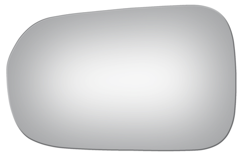 Acura 3.2TL 1999-2001 LH Blue Flat Driver Side Replacement Mirror Glass (SKU: Abi1021)