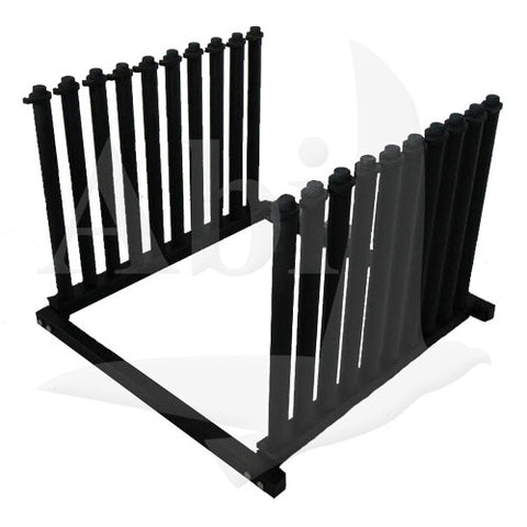 9-lite Folding Windshield Rack for Auto Glass