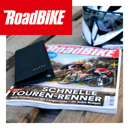 RoadBike Magazine Germany reviews the Zilfer Phone Wallet