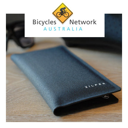 Zilfer Phone Wallet Review on Bicycles Network Australia