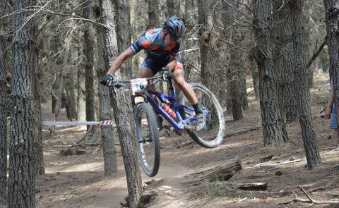 Australian Cyclist Scott Reynolds At The XCO National Series