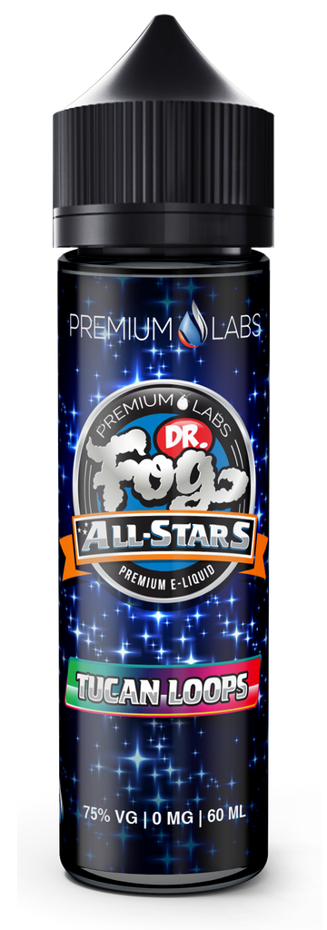 Tucan Loops Dr. Fog's Allstars Current Vapor Co. 60ml - www.currentvapor.net