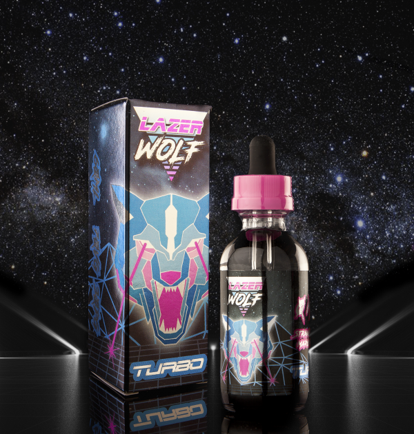 Turbo Laser Wolf Current Vapor Co. 60ml - www.currentvapor.net
