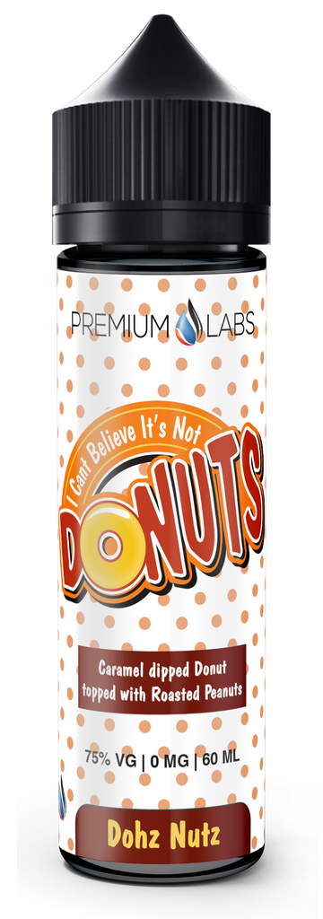 Dohz Nutz Premium Labs Current Vapor Co. 60ml - www.currentvapor.net