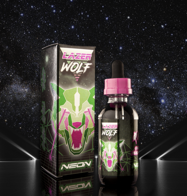 Neon Laser Wolf Current Vapor Co. 60ml