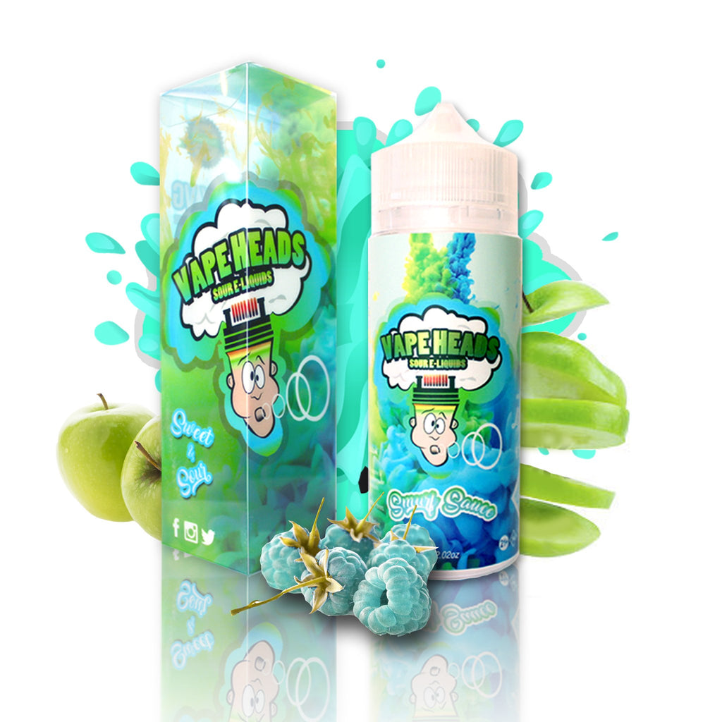 Smurf Sauce Vape Heads Current Vapor Co. 120ml - www.currentvapor.net