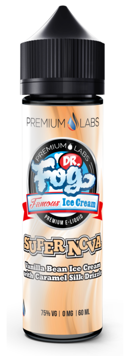 Super Nova Dr. Fog's Famous Ice Creams Current Vapor Co. 60ml - www.currentvapor.net