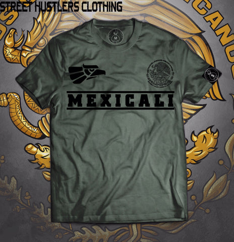 # Mexicali T-shirt (Olive)