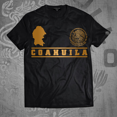 # COAHUILA BLACK T-SHIRT