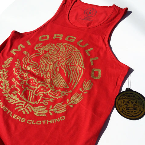 # Mi Orgullo Tank Top (Red)