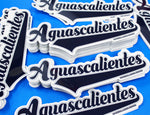 # AGUASCALIENTES STICKERS (NAVY/BLUE)