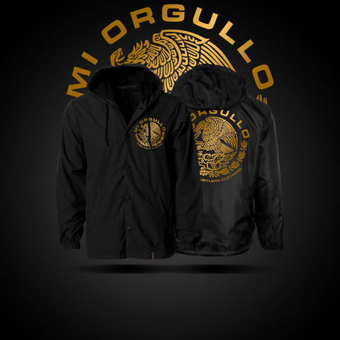 # Mi Orgullo Orginal Hooded Windbreaker