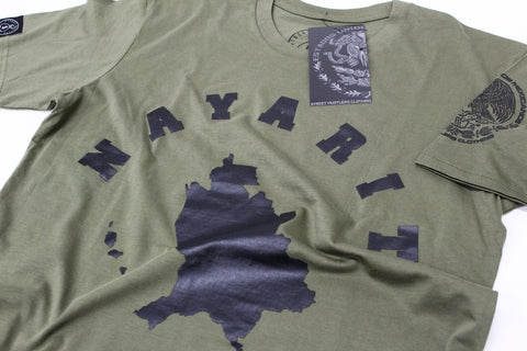 # ESTADO DE NAYARIT ARMY T-SHIRT
