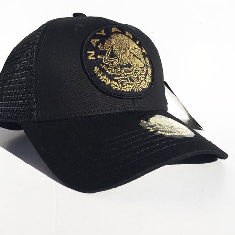 # Nayarit Trucker SnapBack (Black)