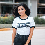 México Supremo Women Tee (White/Black)