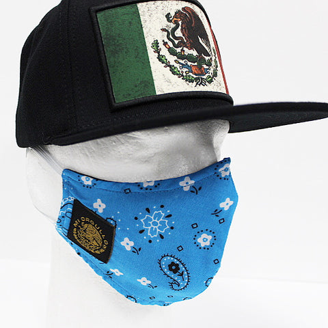 FACE MASK (SKY BLUE / BANDANA)