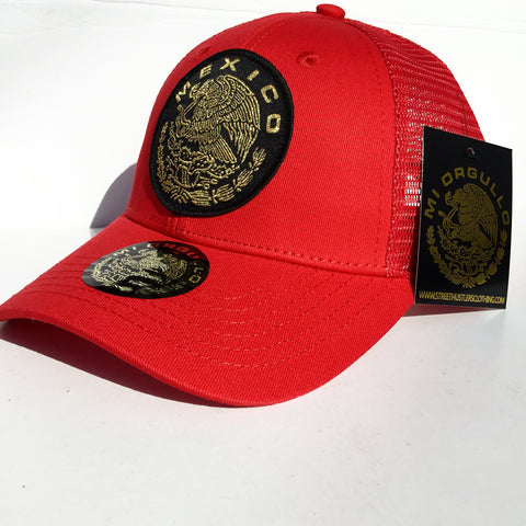 # Mexico Trucker SnpaBakc (Red)