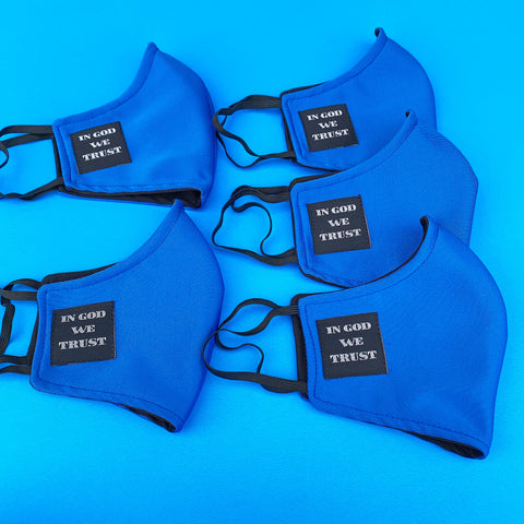 FACE MASK (ROYAL / BLUE)