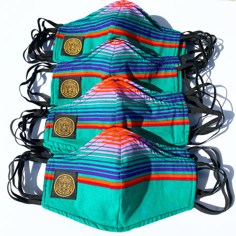 FACE MASK (SARAPE / GREEN)
