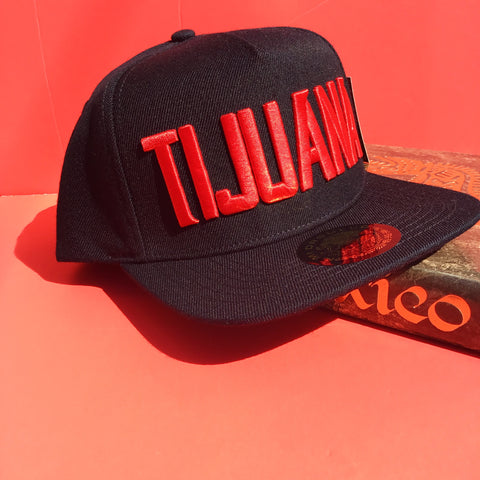 # Tijuana Original SnapBack (Black/Red)